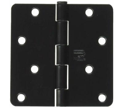 National Hardware N830-201 Door Hinge 4 Inch 1/4 Radius Oil Rubbed Bronze