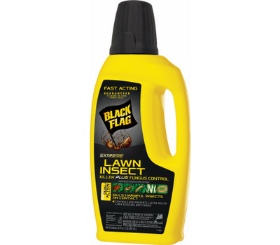Spectrum HG-11118 Black Flag Lawn Insect Killer, Liquid, 32 Ounce