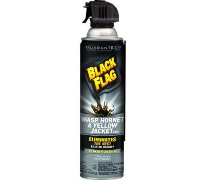 Spectrum HG-11123 Black Flag Wasp, Liquid, Spray Application, 14 Ounce Aerosol Can