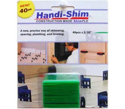 Handi Shim HS13240GR 1/32 Inch Grn Shim 40 Pack