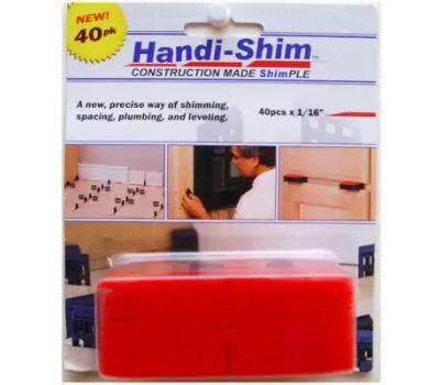 Handi Shim HS11640RD 1/16 Inch Red Shim 40 Pack