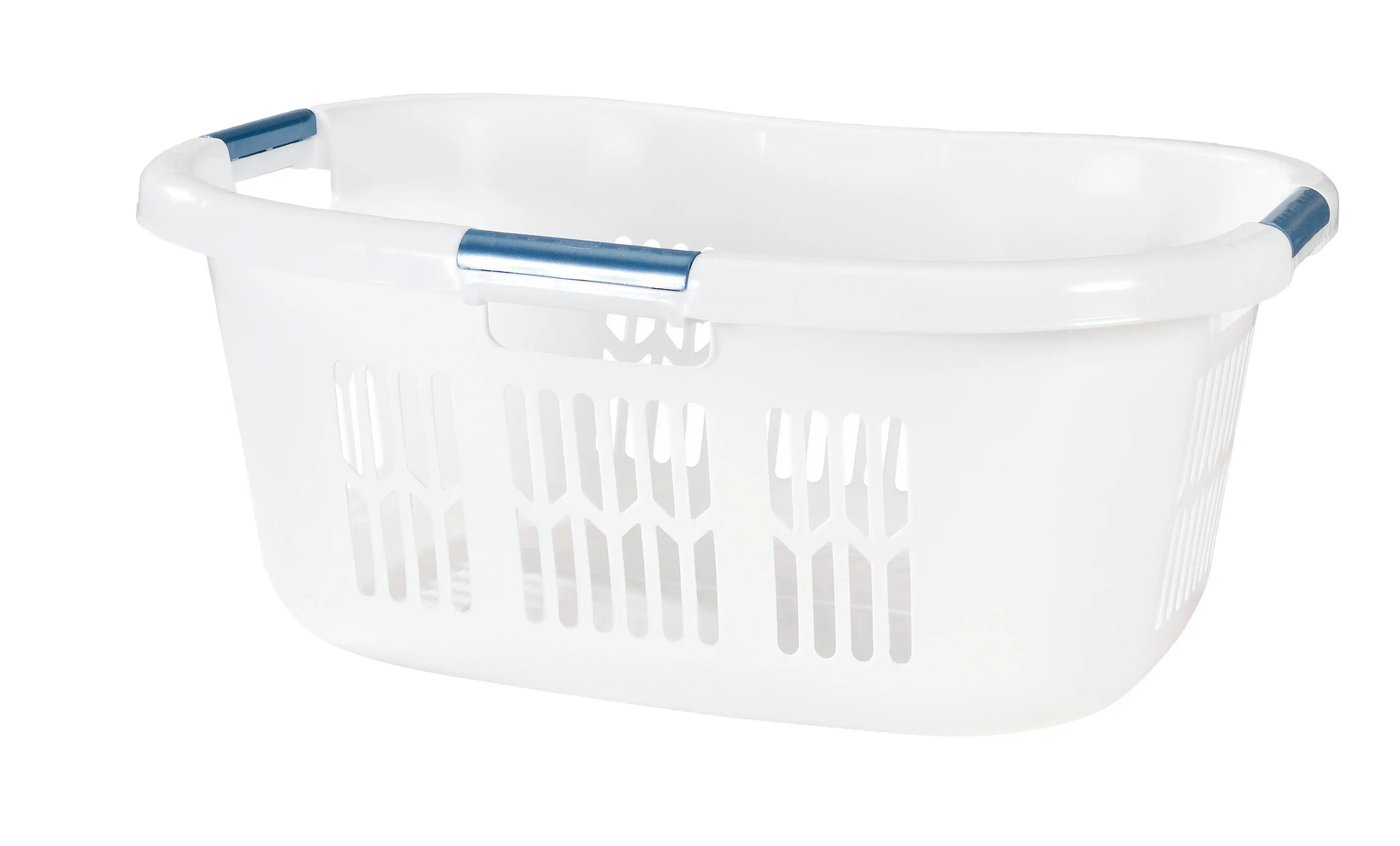Rubbermaid Home FG299587WHTRB Hip Hugger Basket Laundry Hip Hugger  (071691403173-1)